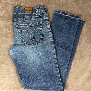 Paris Blues Medium wash skinny jeans Sz 9
